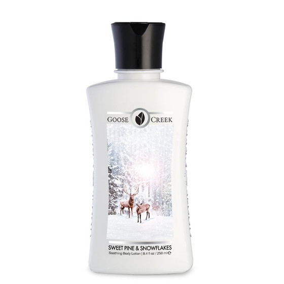 Goose Creek Candle® Sweet Pine & Snowflakes Bodylotion 250ml