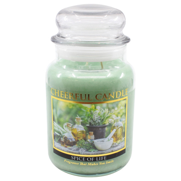 Cheerful Candle Spice of Life 2-Docht-Kerze 680g
