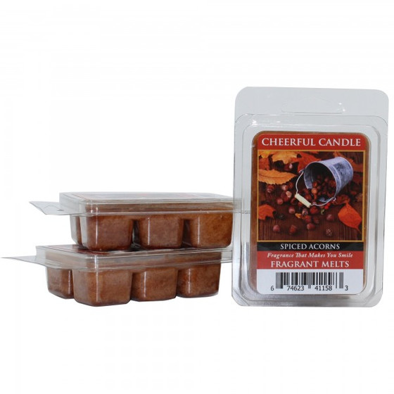 Cheerful Candle Spiced Acorns Wachsmelt 68g