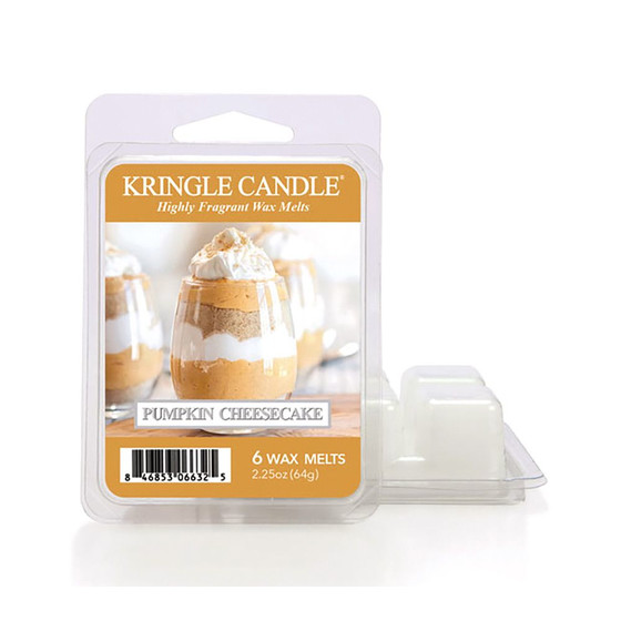 Kringle Candle® Pumpkin Cheesecake Wachsmelt 64g