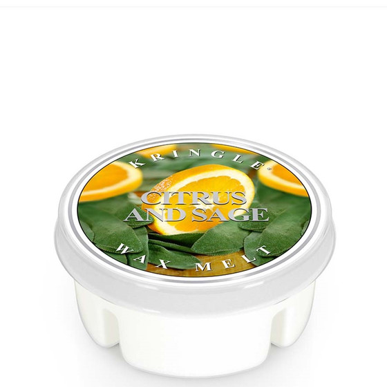 Kringle Candle® Citrus And Sage Wachsmelt 35g