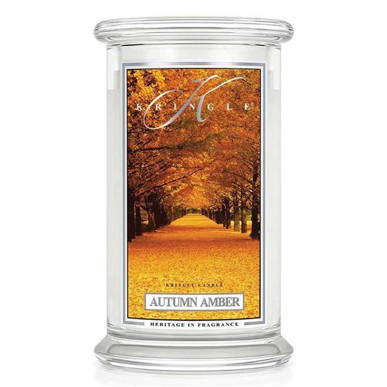 Kringle Candle® Autumn Amber 2-Docht-Kerze 623g