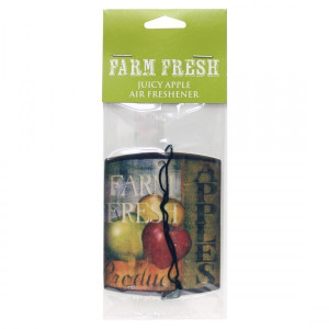 Cheerful Candle Car Air Freshener Juicy Apple