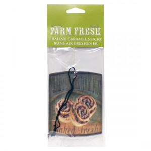 Cheerful Candle Car Air Freshener Praline Caramel Sticky Buns