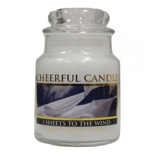 Cheerful Candle 3 Sheets To The Wind 1-Docht-Kerze 170g