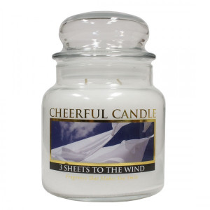 Cheerful Candle 3 Sheets To The Wind 2-Docht-Kerze 453g