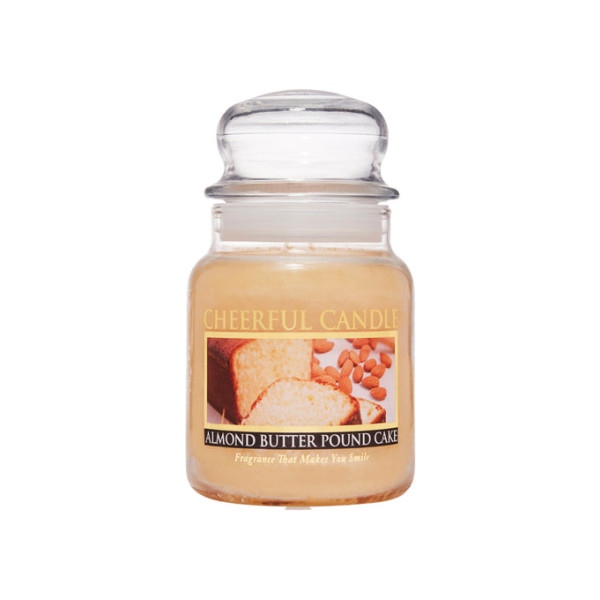 Cheerful Candle Almond Butter Pound Cake 1-Docht-Kerze 170g