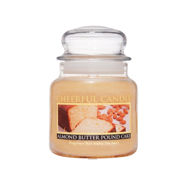 Cheerful Candle Almond Butter Pound Cake 2-Docht-Kerze 453g