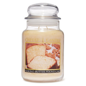 Cheerful Candle Almond Butter Pound Cake 2-Docht-Kerze 680g