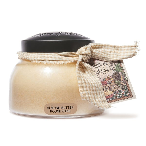 Cheerful Candle Almond Butter Pound Cake 2-Docht-Kerze Mama Jar 623g