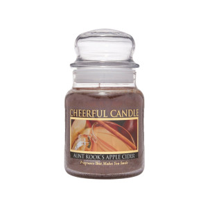 Cheerful Candle Aunt Kook's Apple Cider 1-Docht-Kerze 170g