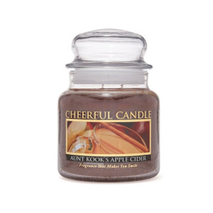 Cheerful Candle Aunt Kook's Apple Cider 2-Docht-Kerze 453g