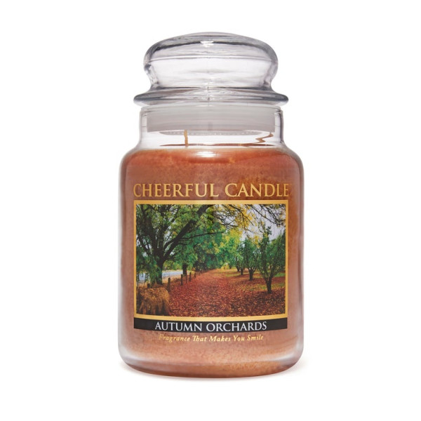 Cheerful Candle Autumn Orchards 2-Docht-Kerze 680g