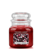 Country Candle™ Frosted Cranberries 2-Docht-Kerze 453g