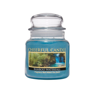 Cheerful Candle Bamboo Waterfall 2-Docht-Kerze 453g