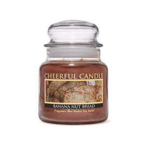 Cheerful Candle Banana Nut Bread 2-Docht-Kerze 453g