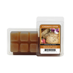 Cheerful Candle Banana Nut Bread Wachsmelt 68g