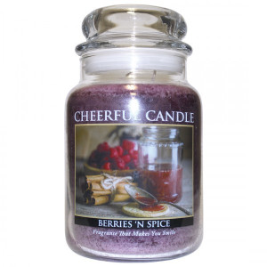 Cheerful Candle Berries 'N Spice 2-Docht-Kerze 680g