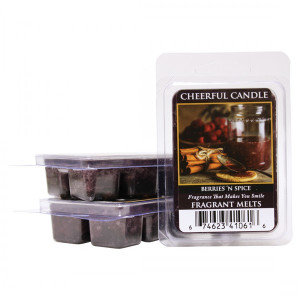 Cheerful Candle Berries 'N Spice Wachsmelt 68g