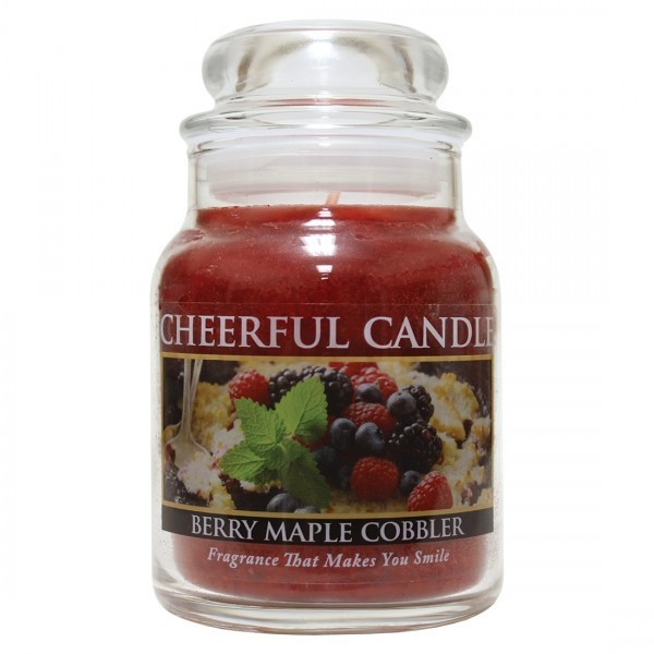 Cheerful Candle Berry Maple Cobbler 1-Docht-Kerze 170g