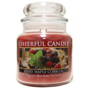 Cheerful Candle Berry Maple Cobbler 2-Docht-Kerze 453g