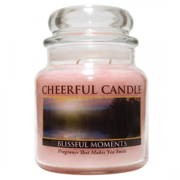 Cheerful Candle Blissful Moments 2-Docht-Kerze 453g