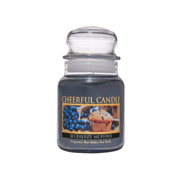 Cheerful Candle Blueberry Muffins 1-Docht-Kerze 170g