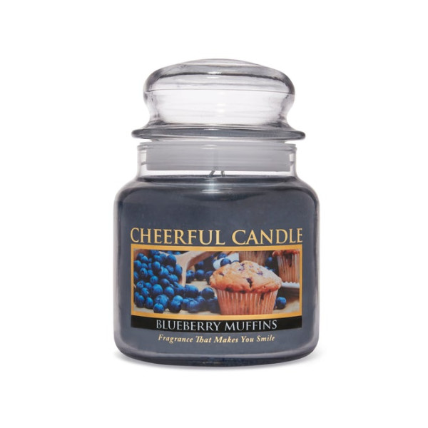 Cheerful Candle Blueberry Muffins 2-Docht-Kerze 453g