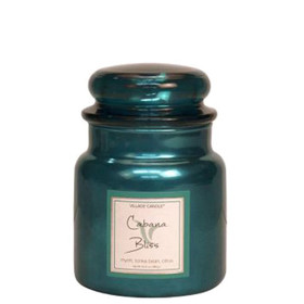 Village Candle® Cabana Bliss 2-Docht-Kerze 411g Limited Edition Metallic Line