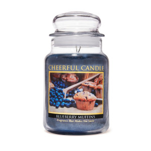 Cheerful Candle Blueberry Muffins 2-Docht-Kerze 680g