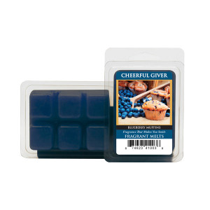 Cheerful Candle Blueberry Muffins Wachsmelt 68g