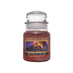 Cheerful Candle Bonfire By The Lake 1-Docht-Kerze 170g