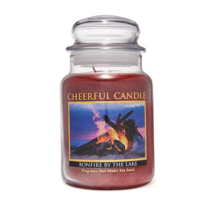 Cheerful Candle Bonfire By The Lake 2-Docht-Kerze 680g