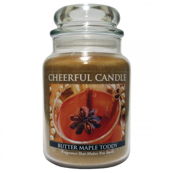Cheerful Candle Butter Maple Toddy 2-Docht-Kerze 680g