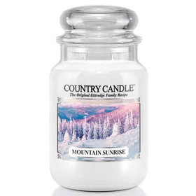 Country Candle™ Mountain Sunrise 2-Docht-Kerze 652g
