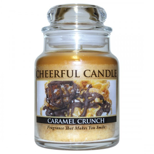 Cheerful Candle Caramel Crunch 1-Docht-Kerze 170g