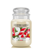 Country Candle™ Sugar Cookies 2-Docht-Kerze 652g