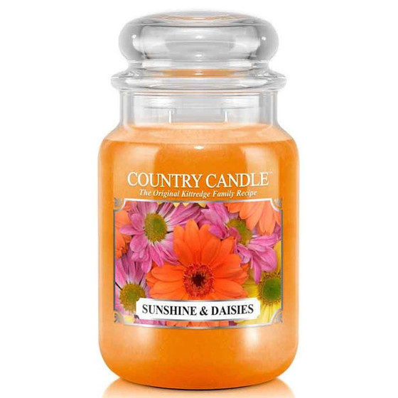 Country Candle™ Sunshine & Daisies 2-Docht-Kerze 652g