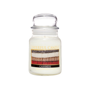 Cheerful Candle Cashmere 1-Docht-Kerze 170g