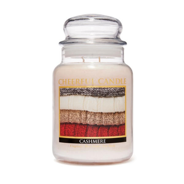Cheerful Candle Cashmere 2-Docht-Kerze 680g