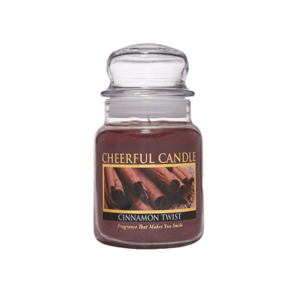 Cheerful Candle Cinnamon Twist 1-Docht-Kerze 170g