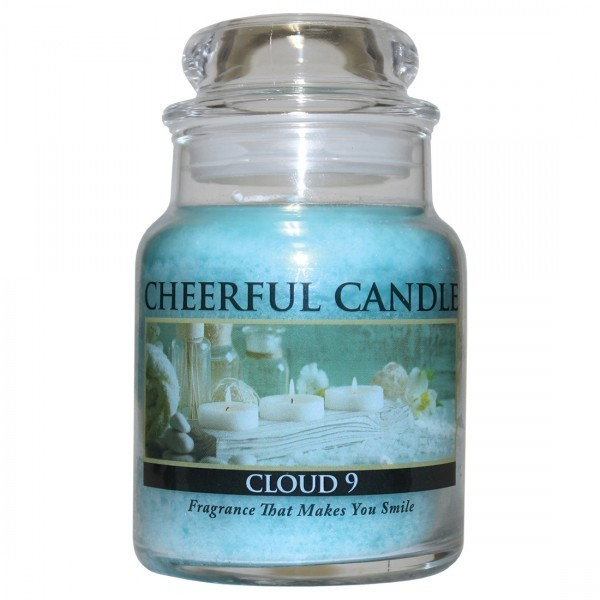Cheerful Candle Cloud 9 1-Docht-Kerze 170g