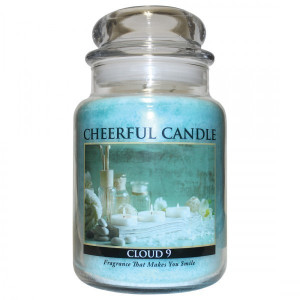 Cheerful Candle Cloud 9 2-Docht-Kerze 680g
