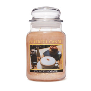 Cheerful Candle Country Morning 2-Docht-Kerze 680g