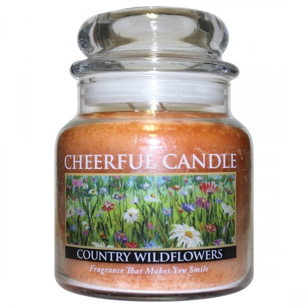 Cheerful Candle Country Wildflowers 2-Docht-Kerze 453g