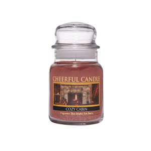 Cheerful Candle Cozy Cabin 1-Docht-Kerze 170g