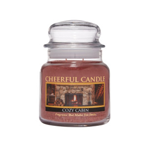 Cheerful Candle Cozy Cabin 2-Docht-Kerze 453g