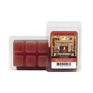 Cheerful Candle Cozy Cabin Wachsmelt 68g