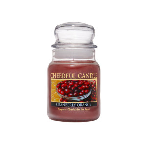 Cheerful Candle Cranberry Orange 1-Docht-Kerze 170g