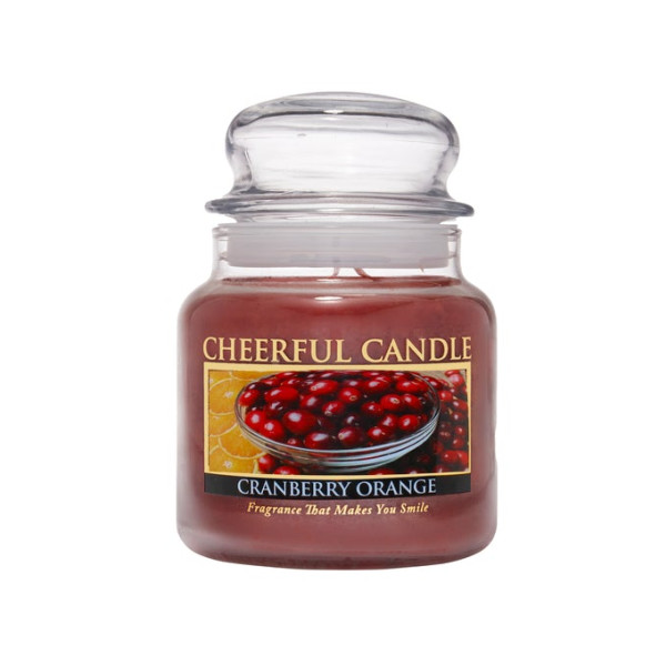 Cheerful Candle Cranberry Orange 2-Docht-Kerze 453g